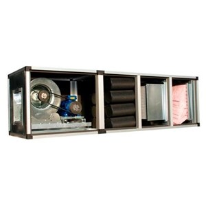 Deodorizing and filtering unit - Galvanized sheet metal panels 8/10 - Wash-proof metallic cell filter G2 or cloth filter G4