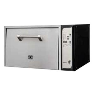 ELECTRIC RICE OVEN - Mod. KAORI - Single oven chamber - This oven cooks rice in preparation to sushi - Rice capacity between Kg 2,8 and 5 - Power 5,4 Kw - Dimensions cm L 75 x D 65,5 x 50 h - EC standards