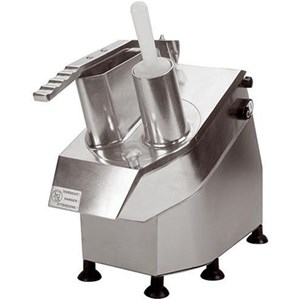 MANUAL VEGETABLE/ FRUIT SLICER - Mod. HT-5,5 - STAINLESS STEEL AND FOOD GRADE PLASTIC STRUCTURE - N. 10 BLADES - CE APPROVED