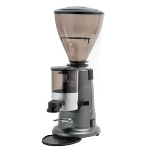 COFFEE GRINDER - MOD. MACA FMC6 - PRODUCTION PER HOUR Kg 3/4 - SUPPLY V 230/50Hz SINGLE PHASE - POWER W 340 - DIMENSIONS Cm 22 x 36 x 60 - CE STANDARDS