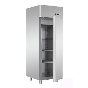 UPRIGHT FRIDGE - PAINTED STEEL/ABS EXTERIOR - STATIC COOLING - ECO - Mod G-ER200 - ENERGY CLASS A - SINGLE SOLID DOOR - CAPACITY LT 130 - TEMPERATURE RANGE 2º/+8ºC - Dimensions cm L60 x D58,5 x h85,5 - CE APPROVED
