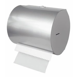 WALL RACK - MOD. 2603 - FOR PAPER TOWEL ROLLS - STAINLESS STEEL - WEIGHT KG 1