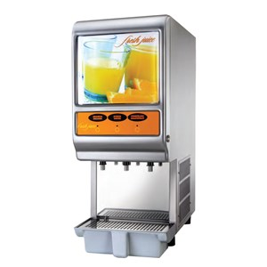 COLD DRINK DISPENSER - MOD. MINIDISPENSER MIXERS - N. 1 TANK - CAPACITY LT 5 - Dimensions Cm. L 22 x D 31 x h 54 - EC STANDARDS