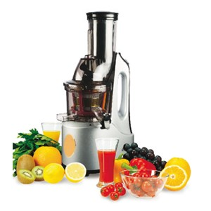 SLOW JUICER mod. CJE6203 - N. 60 rpm - Power 150 W - 230V single phase - 50-60 Hz - CE approved