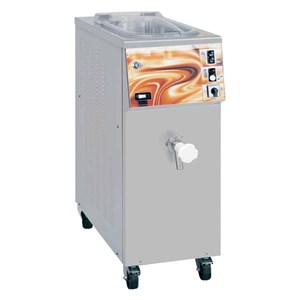 ICE CREAM PASTEURIZER - MOD. PASTO' 30 - MIXTURE PER CYCLE lt 15/30 - SUPPLY V 400/50Hz THREE PHASE - POWER Kw 4 - DIMENSIONS Cm L 42 x D 78 x h 110 - EC STANDARDS