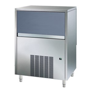 ICE MACHINE - HOLLOW ICE - Cod. ICM 20 - ICE BIN CAPACITY Kg 6 - PRODUCTION (AIR-COOLED VERSION) UP TO kg 20/24 h - Dim. cm L 36,4 x D 49,5 x H 60,1 - CE approved