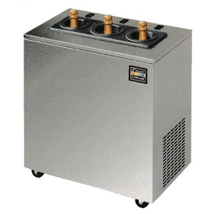BOTTLE COOLER - Mod. BTL 1500 - Suitable for cooling various sizes of bottles and cans - STATIC COOLING - Capacity Lt 410 - Power W 200 - SINGLE PHASE 230V/1/50Hz - Dim. cm L 150 x D 57,5 x h 86,5 - CE approved