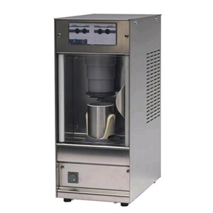 FROZEN FOOD MIXER  - MOD. RIAX - CUP CAPACITY lt 0,3 - BLADE SPEED rpm 2000 - SINGLE PHASE V 230/50Hz - POWER W 600 - DIMENSIONS Cm L 33 x D 16 x h 48 - EC STANDARDS