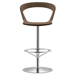 STOOL IBIS - MOD. 303S - STEEL SWIVEL CHAIR - POLYPROPYLENE AND PET BODY - FOR INDOOR USE - N. 1-PIECE SET - DIMENSIONS Cm L55 x D53 x H109 - EC STANDARDS
