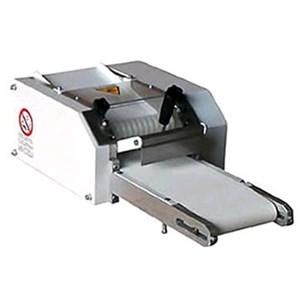 MINI BREADSTICK MAKER Mod. GR15 - Supply 400V 50/60Hz THREE PHASE - Breadsticks ø 4/24 mm - Production per hour: Kg/hour 25 - Power W 74/60 - Dimensions cm L 65 x D 50 x 30 H - EC standards