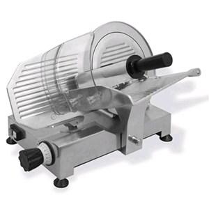 GRAVITY SLICER mod.GPE 275 - EC standards - RoHS - Stainless steel blade Ø 275 - Useful cut mm 230x180 - Blade sharpener included