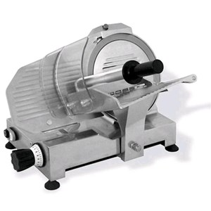 GRAVITY SLICER mod.GPR 250 - EC standards - RoHS - Stainless steel blade Ø 250 - Useful cut mm 230x175 - Fixed blade sharpener