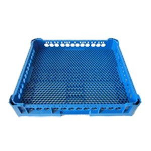 BASE RACK WITH SMALL HOLES FOR MIXED ITEMS - MOD. 100150 - RACK DIMENSIONS cm L 50 X D 50 X H 6,5 - EC STANDARDS