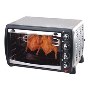 ELECTRIC CONVECTION OVEN - MOD. HK28RC - STAINLESS STEEL - ALUMINIUM COOKING CHAMBER - SUPPLY V 230/50Hz single phase - Power W 1500 - DIMENSIÓNS Cm L 50 x D 41 x h 31,5 - CE APPROVED
