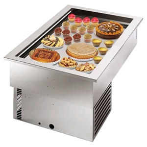 REFRIGERATED DROP IN FOOD WELL DISPLAY   MOD. ARMONIA 64   BAKERY SPECIFIC