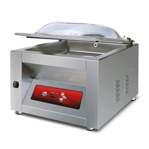 COUNTERTOP CHAMBER VACUUM PACKAGING MACHINE VENERE LINE mod. SYSTEM40 - DIGITAL CONTROL PANEL - Sealing bar mm 400 - EC standards