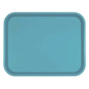 CANTINE TRAY - MOD. 100303 - CLASSICAL RECTANGULAR MODEL - POLYPROPYLENE - 30-PIECE SET - DIMENSIONS cm L 45,6 X D 35,6 - EC STANDARDS
