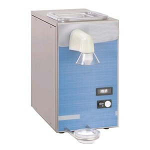 CREAM WHIPPER - MOD. MOPA K2 - TANK CAPACITY lt 2,5 - SINGLE PHASE V 230/50Hz - POWER Kw 0,5 - DIMENSIONS Cm 23x56x43 - EC STANDARDS