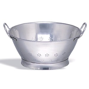 CONICAL STAINLESS STEEL COLANDER