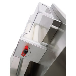 PIZZA DOUGH SHEETER - PIZZA ROLLING MACHINE - 2 SETS OF ROLLERS (parallel rollers) - Mod. TO 45 VC - Roller length cm 40 - Power hp 0,50 - Single phase 230 V - CE approved