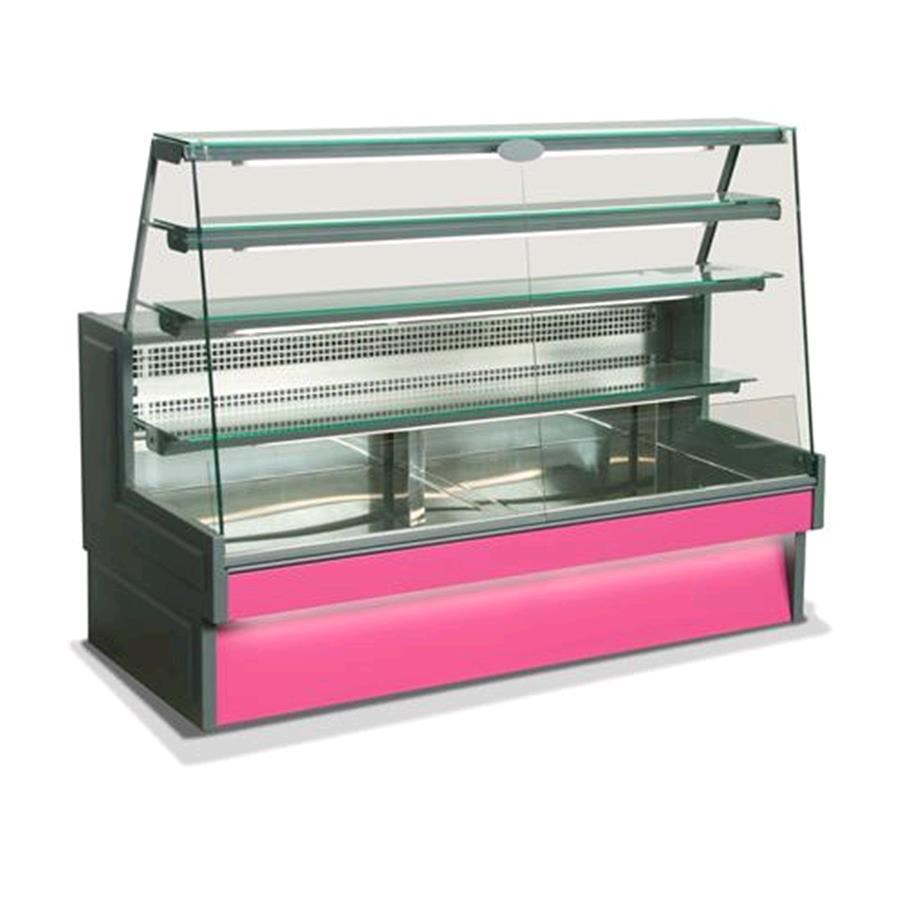 Over The Counter Bakery Warmers ~ Refrigerated serve over counter back service application